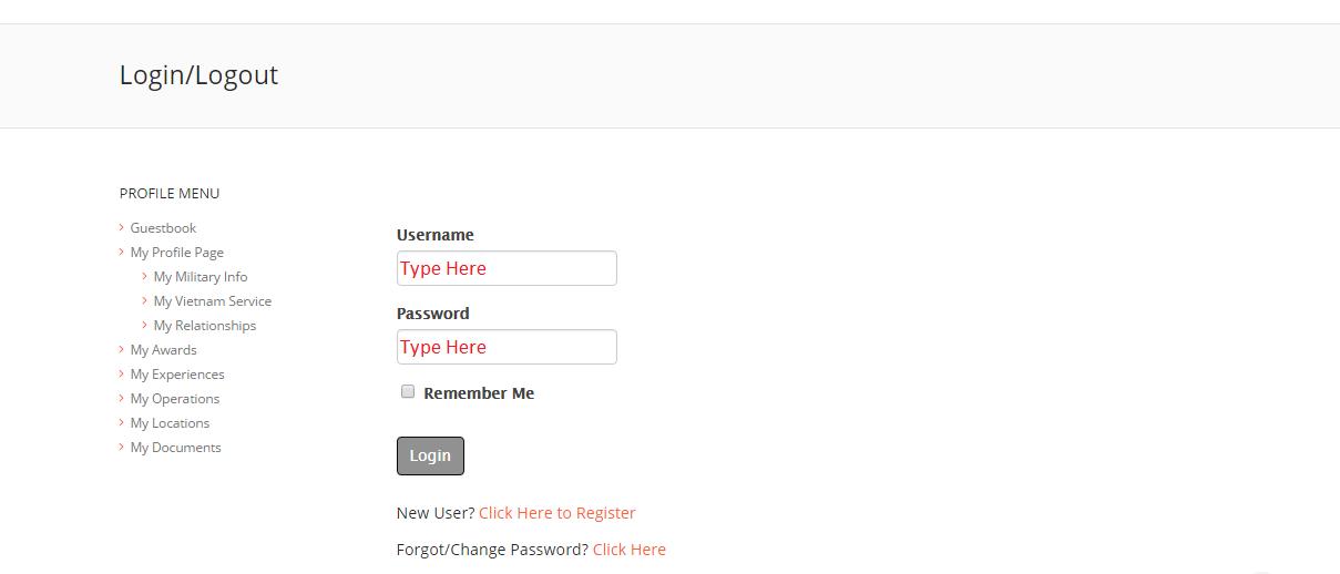 LoginPage Type